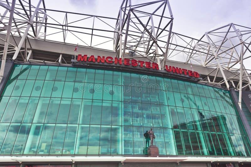 Manchester United stadium. stock photo