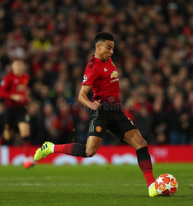 Manchester United v Paris Saint Germain - UEFA Champions Leagueronde van 16: Eerste Been stock fotografie