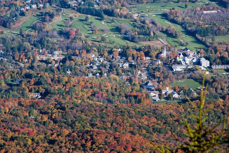 Manchester, Vermont lizenzfreies stockbild