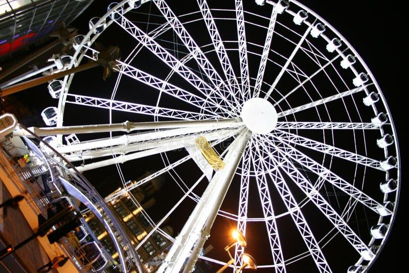 manchester wheel στοκ φωτογραφία με δικαίωμα ελεύθερης χρήσης