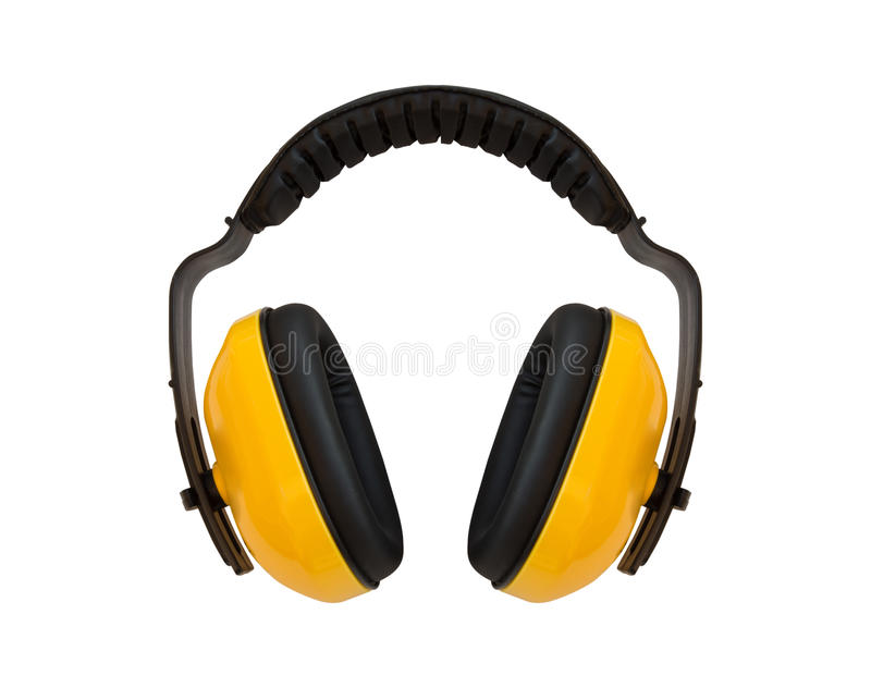 Manchon d'oreille, pour l'oreille de protection contre le bruit photo libre de droits