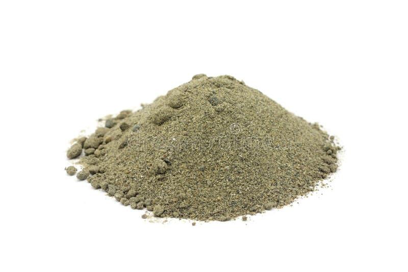 Manciata di sabbia del fiume immagine stock immagine di for Sabbia di fiume