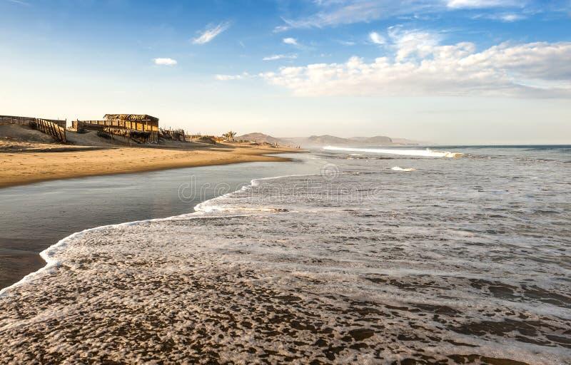 Mancora no norte do Peru foto de stock royalty free