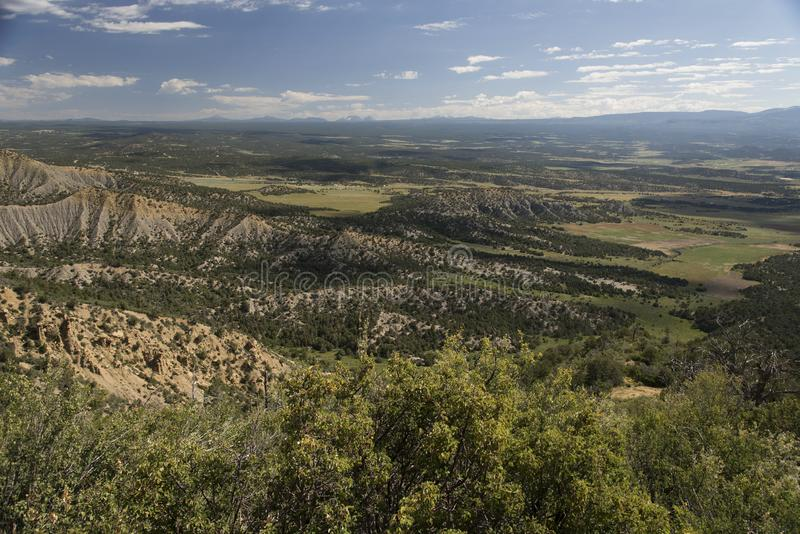 Mancos Valley Overlook royalty free stock images
