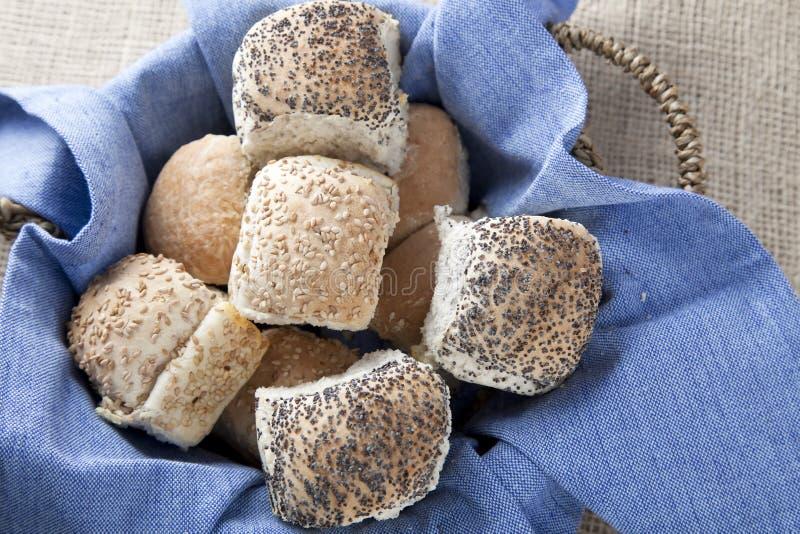 Mand van de Broodjes van het Diner royalty-vrije stock foto