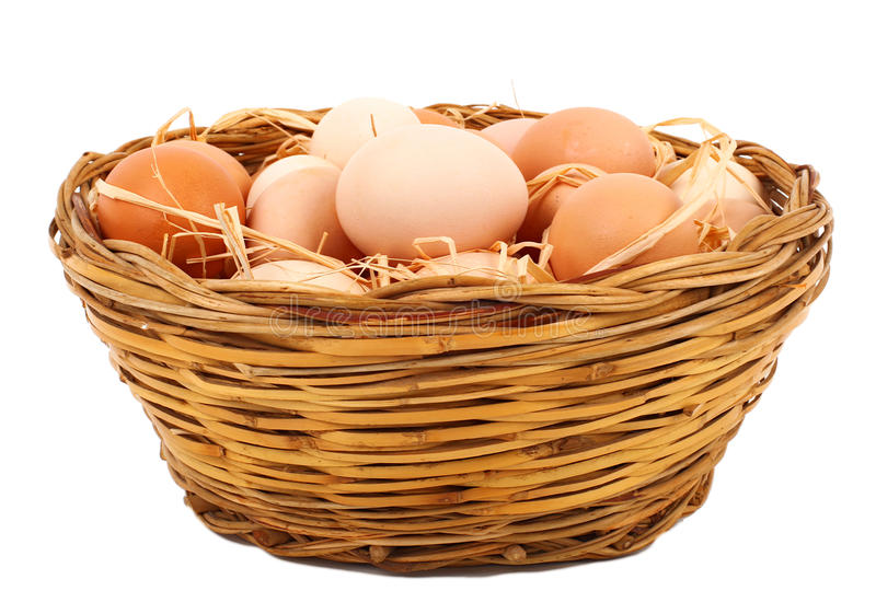 Download Mand van eieren stock afbeelding. Afbeelding bestaande uit verkoop - 29502755