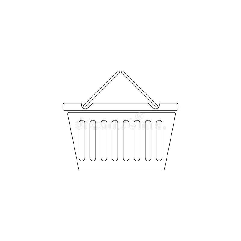 mand Vlak vectorpictogram stock illustratie