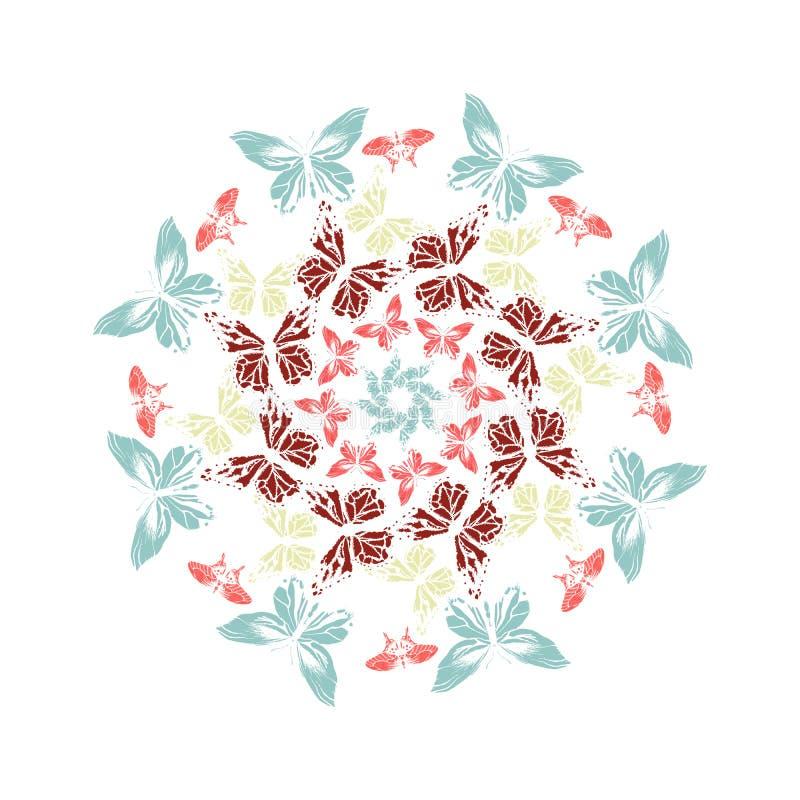 mandala κύκλος επίσης corel σύρετε το διάνυσμα απεικόνισης ελεύθερη απεικόνιση δικαιώματος