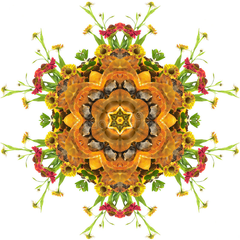 mandala φθινοπώρου ελεύθερη απεικόνιση δικαιώματος