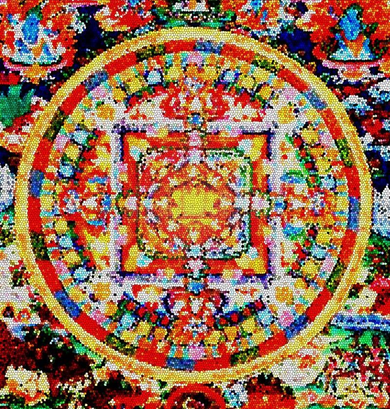 Mandala 1 illustrazione di stock