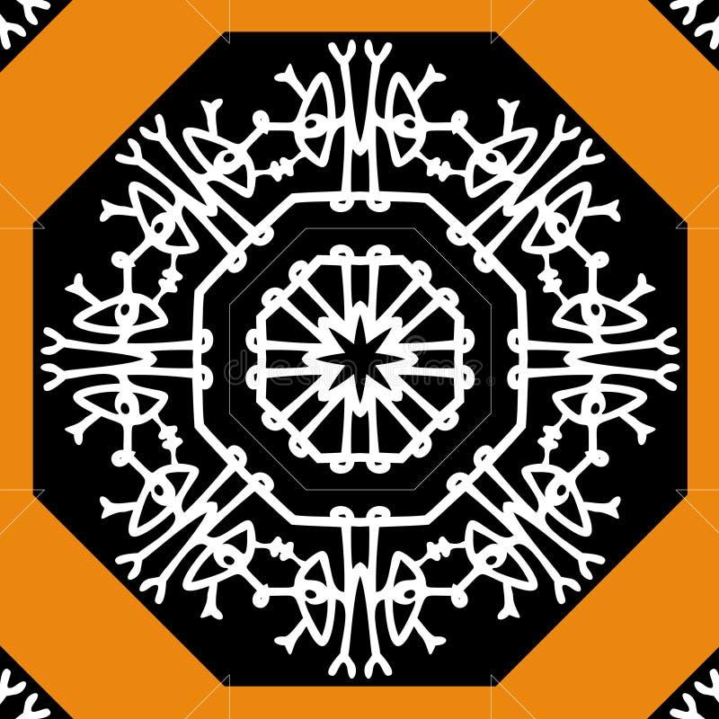 Mandala   ilustración del vector