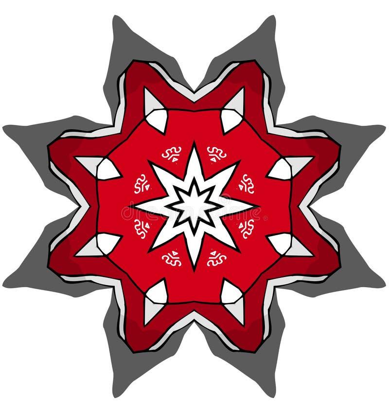 Mandala stock de ilustración