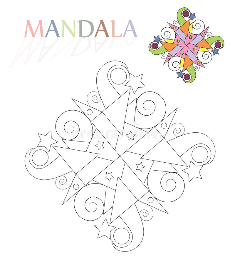 Mandala libre illustration