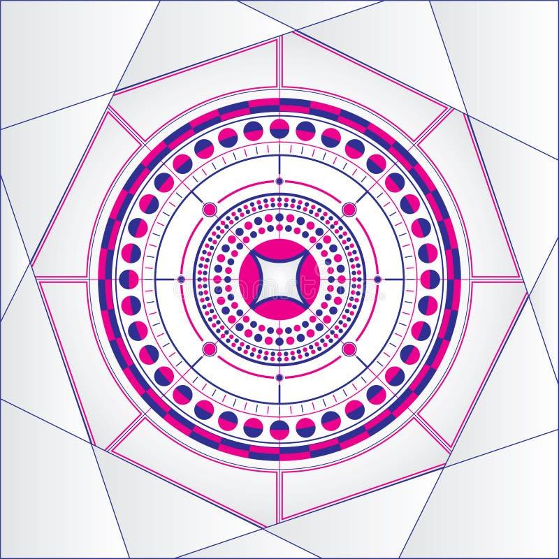 Download Mandala stock vector. Illustration of seamless, symbol - 25500499