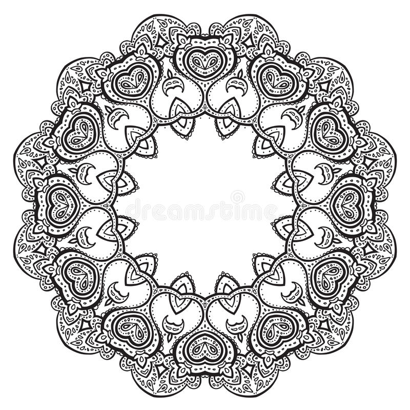Mandala. stock illustratie