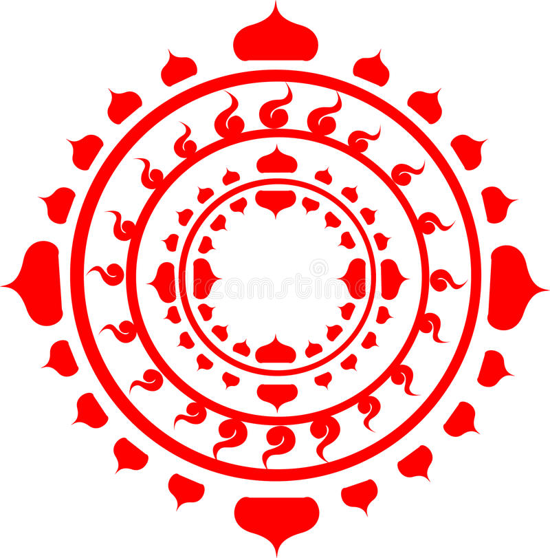 Mandala royaltyfria foton