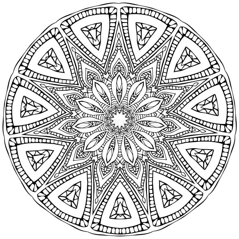 mandala illustration stock