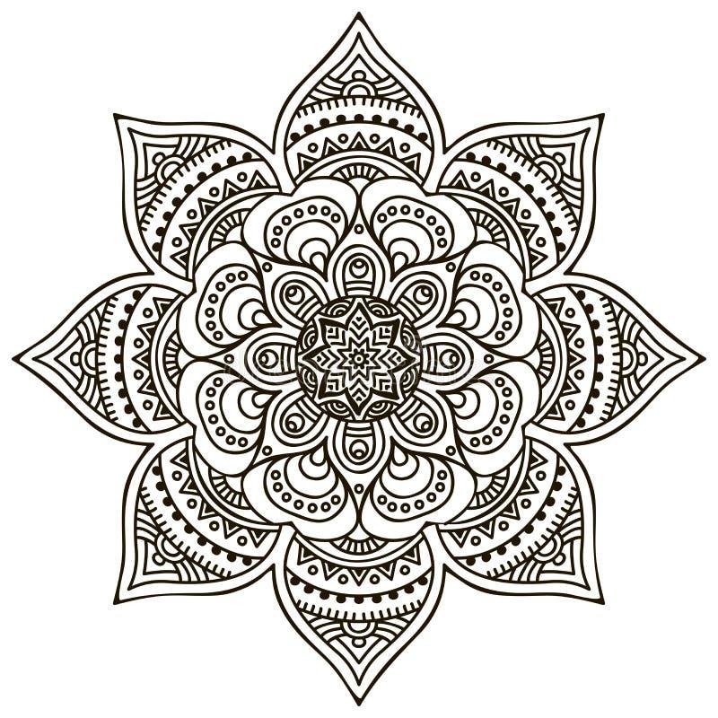 mandala stock abbildung
