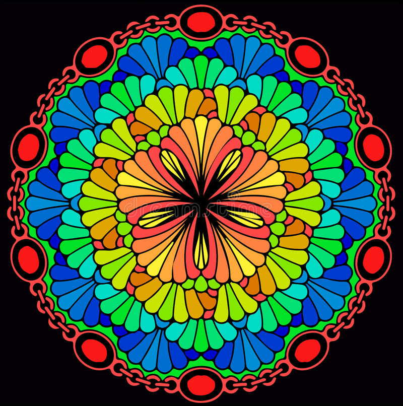 mandala photo stock
