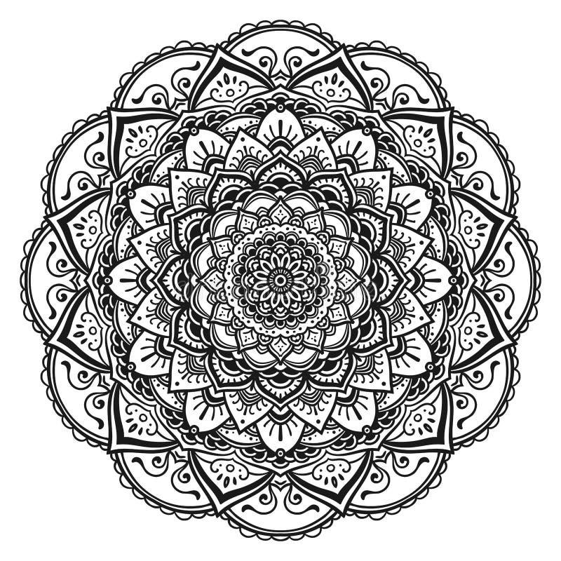 mandala royalty ilustracja