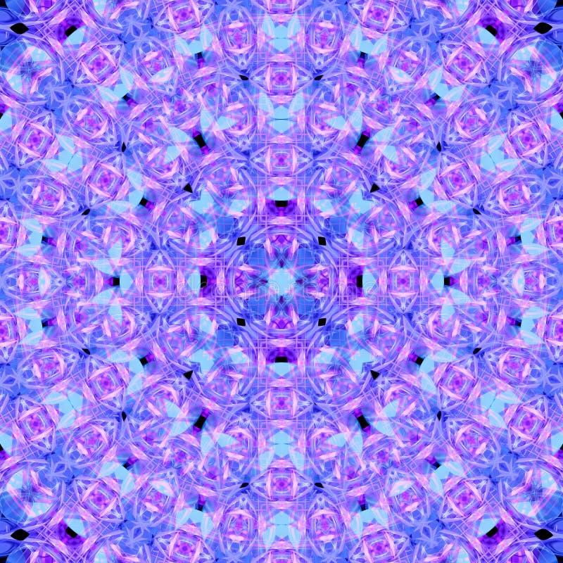 Mandala abstracta de la flor libre illustration