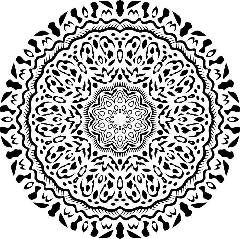 Mandala Art-4 imágenes de archivo libres de regalías
