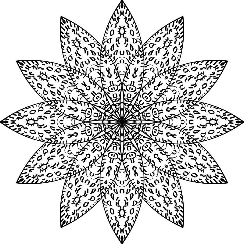 Mandala Art-6 imágenes de archivo libres de regalías