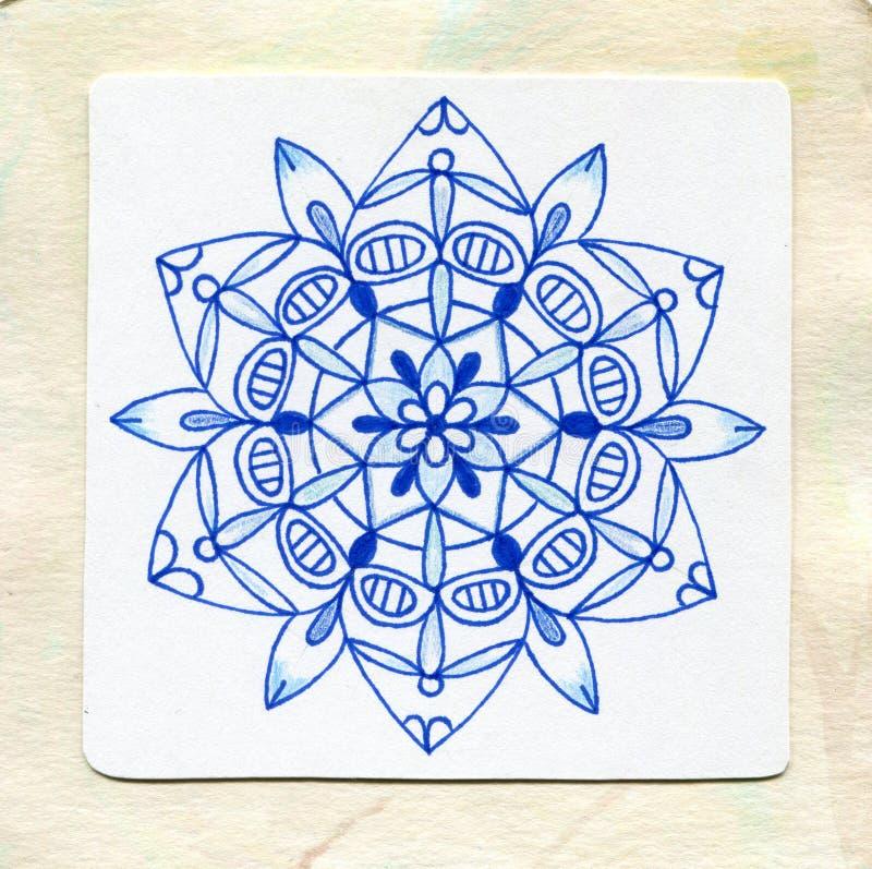 Mandala art stock image