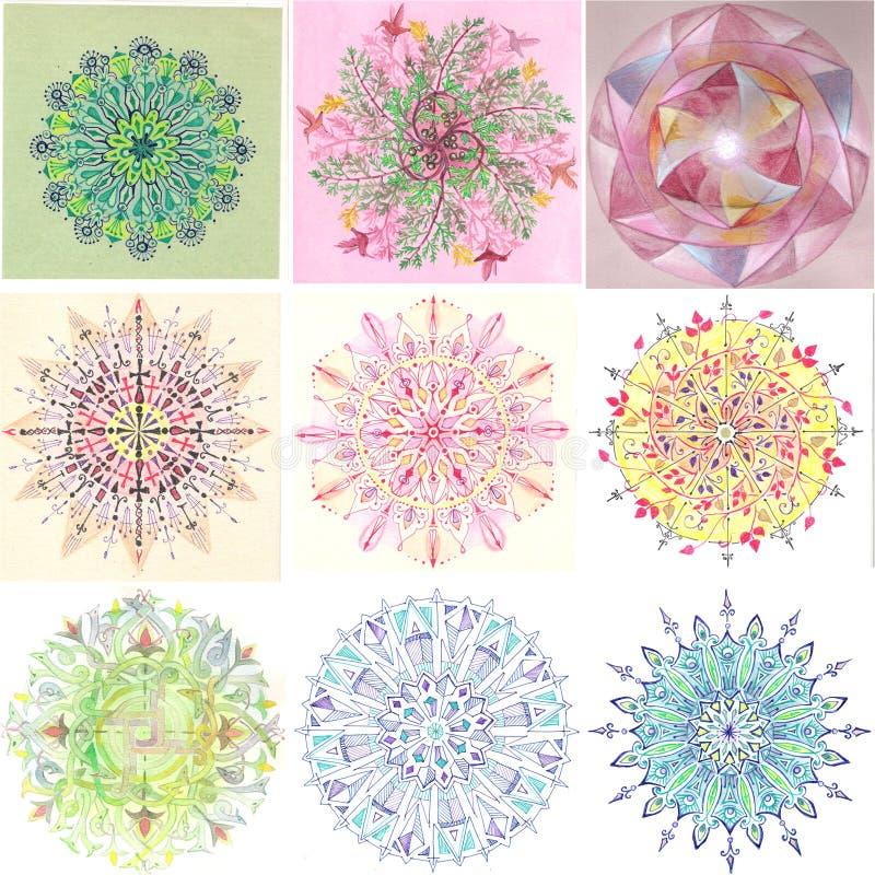 Mandala Batch III lizenzfreie stockbilder