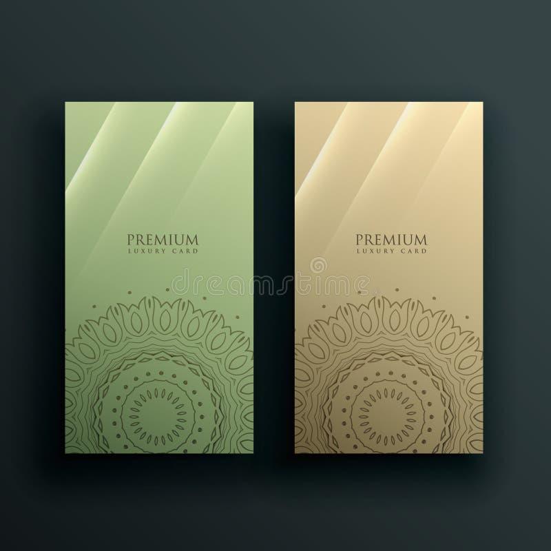 Mandala card banner decoration design vector illustration