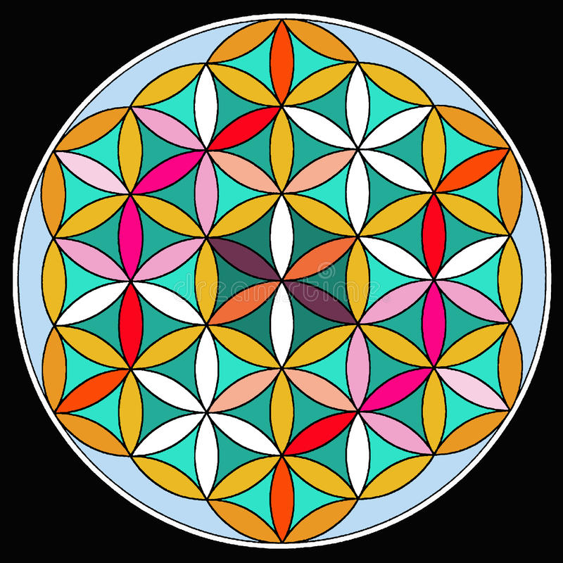 Download Mandala stock illustration. Illustration of asia, blessing - 33579336