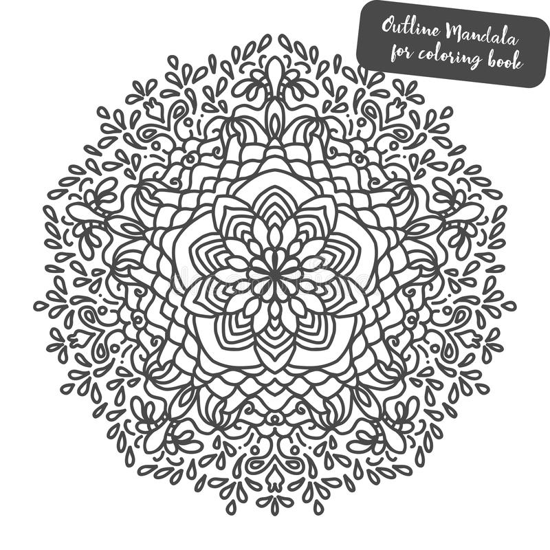 Download Mandala Coloring Book Pages Indian Antistress Medallion Abstract Islamic Flower Arabic