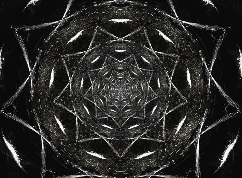 Mandala compleja ilustración del vector