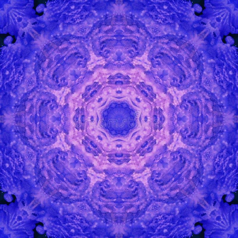 Mandala con textura hecha a mano del arte foto de archivo libre de regalías