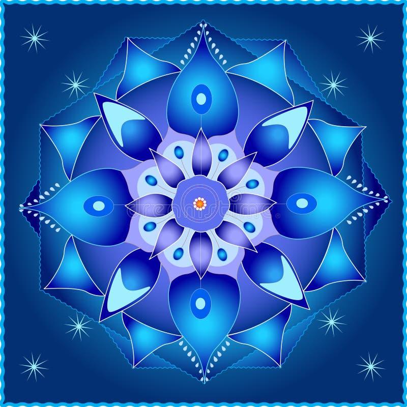 Mandala cosmique illustration stock