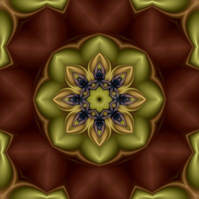 mandala de fleur de kiwi illustration stock illustration du dessins 6621690. Black Bedroom Furniture Sets. Home Design Ideas