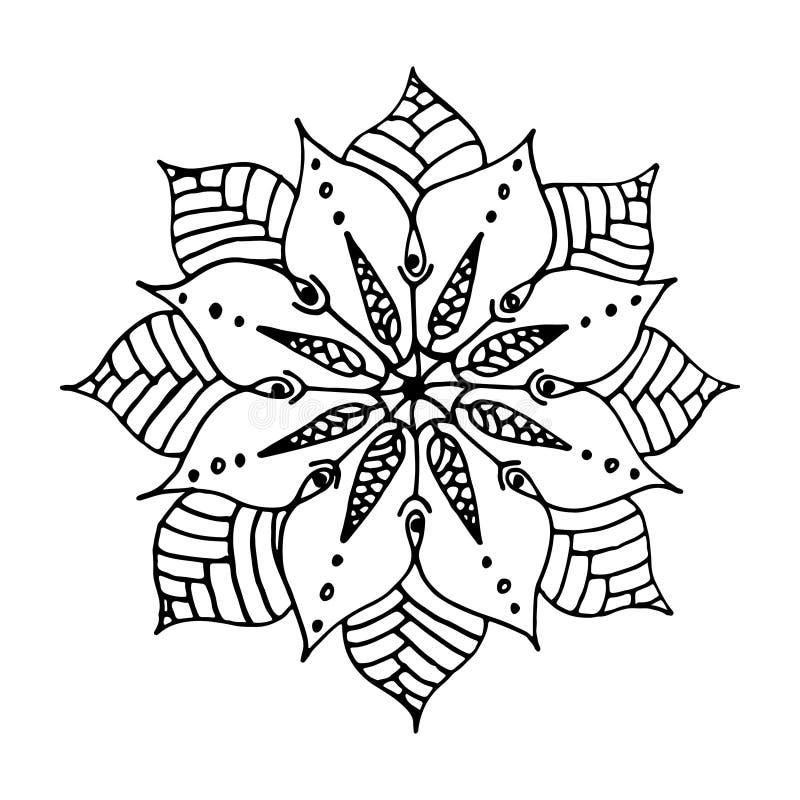 Mandala de la flor libre illustration