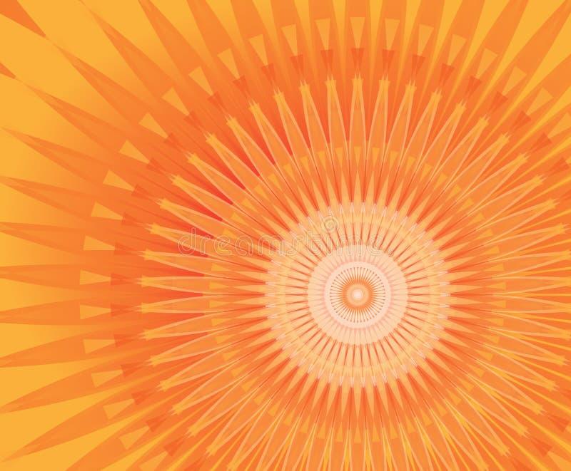 Mandala de Sun libre illustration