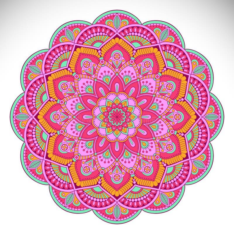 Mandala del indio del vector libre illustration