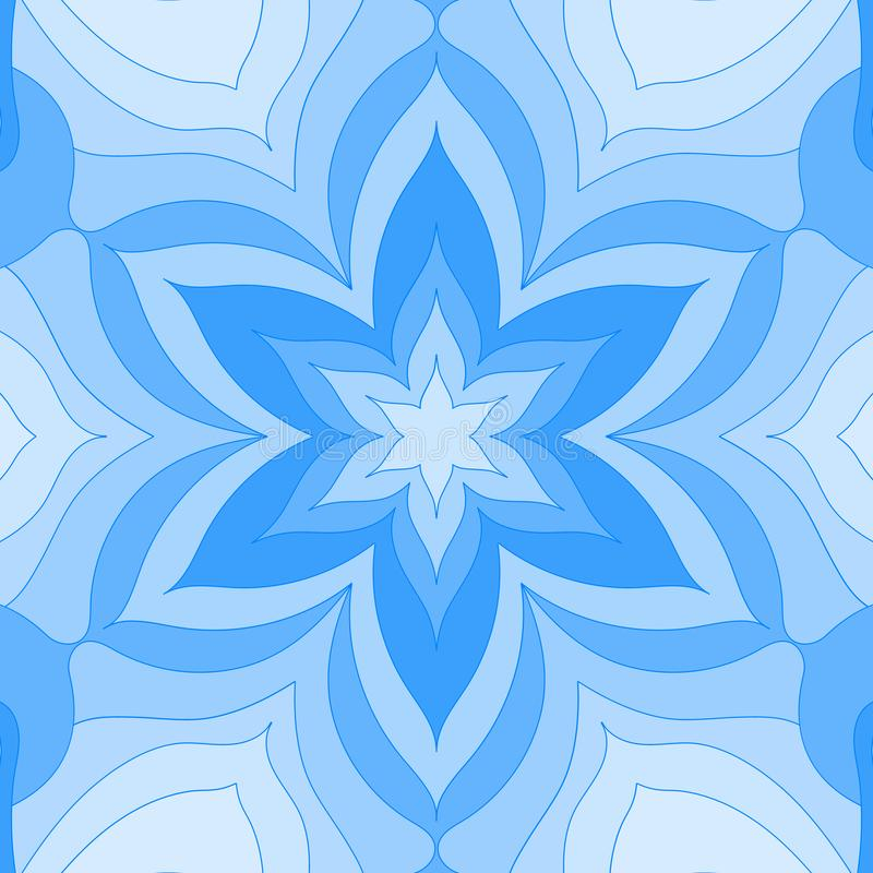 Mandala del vintage Tarjeta del dise?o floral Marco moderno de la impresión, cartel Plantilla retra del fondo del estilo Papel pi ilustración del vector