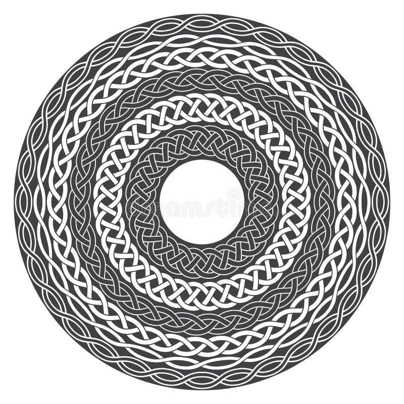 Mandala in der geheimen Art stock abbildung