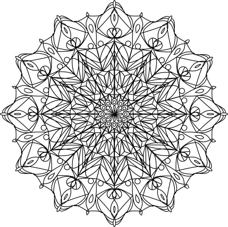 Mandala Design arkivbild