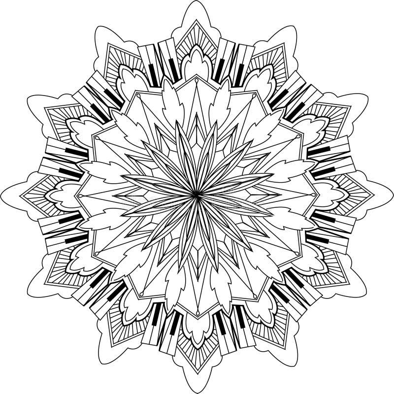 Mandala Design royaltyfria foton