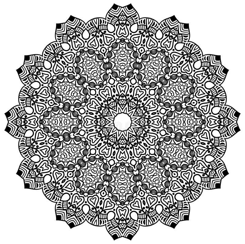 Mandala Design royaltyfria bilder