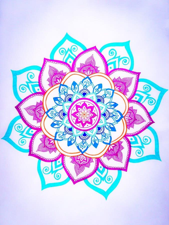 Mandala Design stockbild