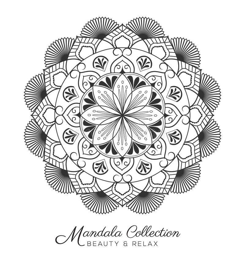 Mandala Design vector illustratie