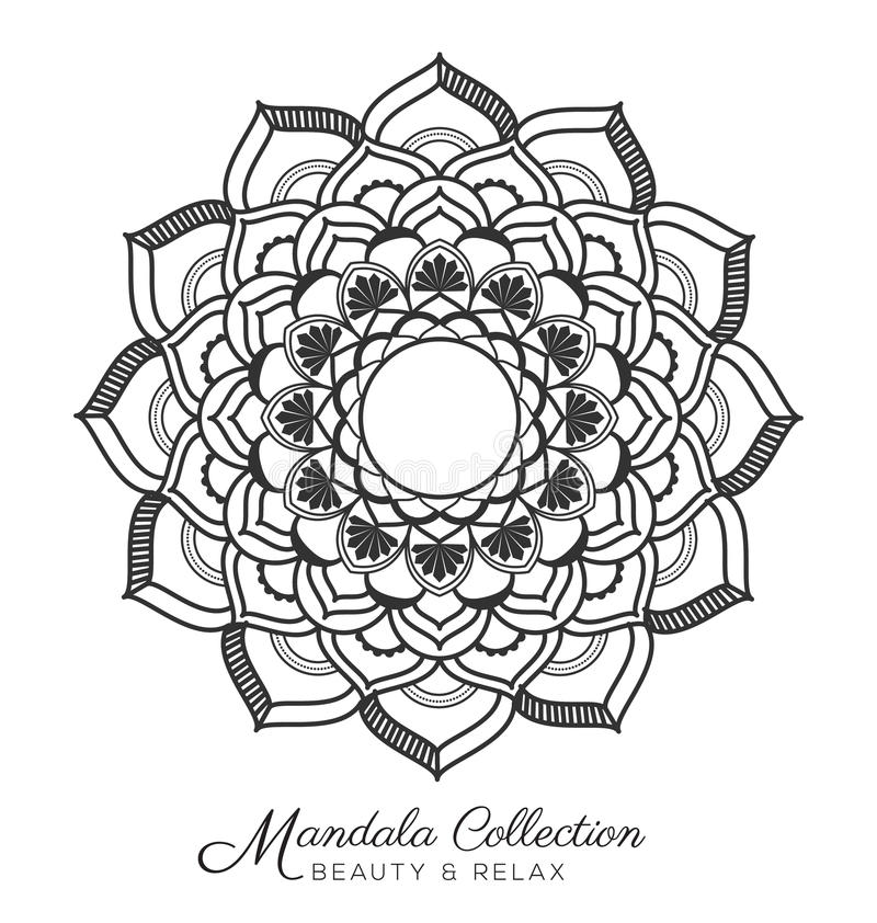 Mandala Design royalty-vrije illustratie