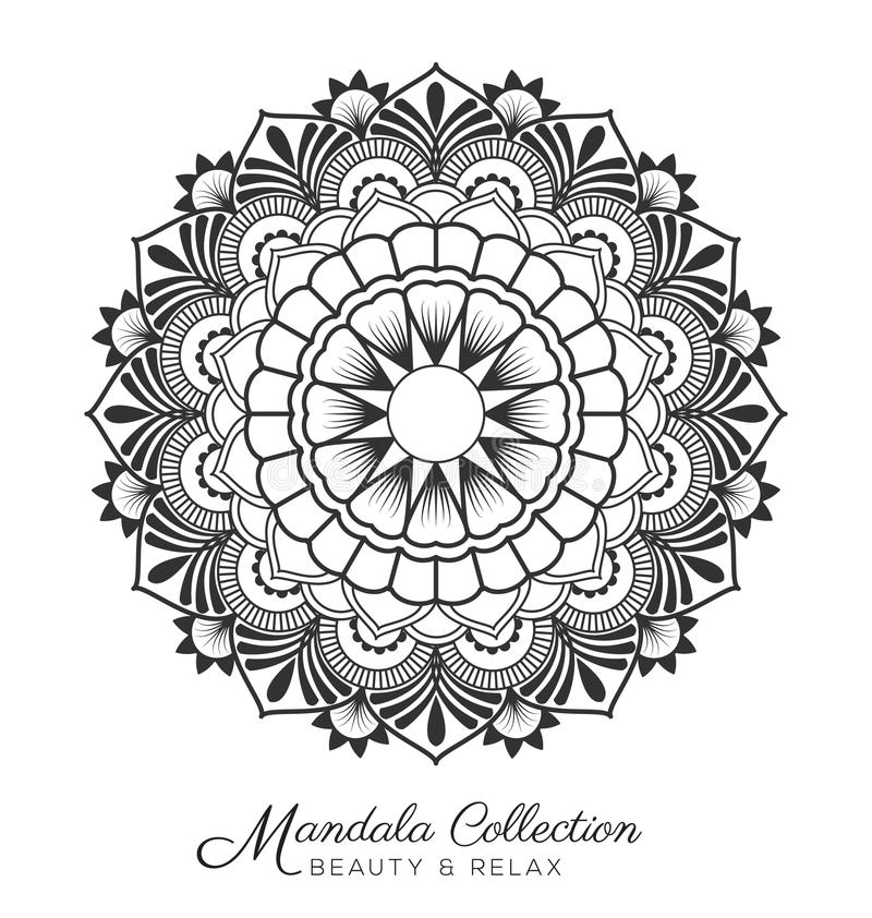 Download Mandala Design Stock Vector Image Of Decorative Black