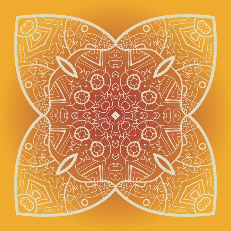 Mandala di vettore royalty illustrazione gratis
