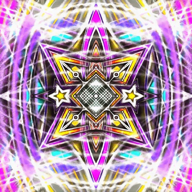 Mandala Digital Nu imagens de stock royalty free